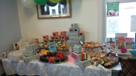 This was the second table-load of goodies for sale.......
